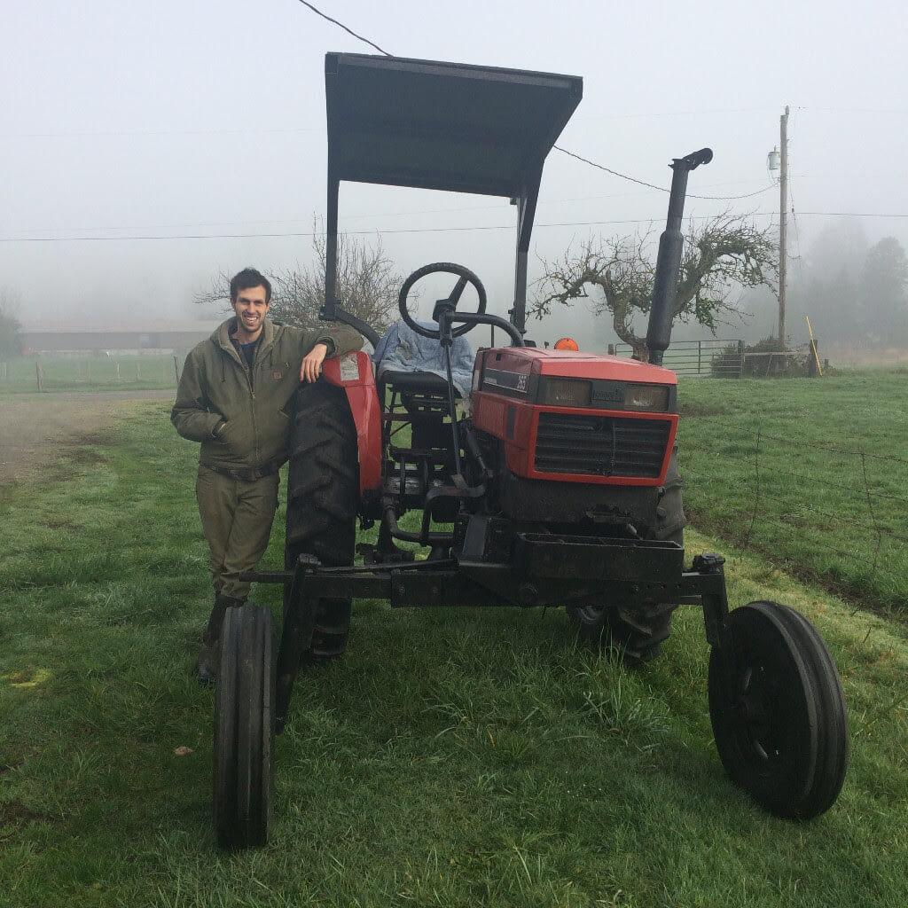 Dan Finklestein of Helsing Junction Farm, Rochester, Washington